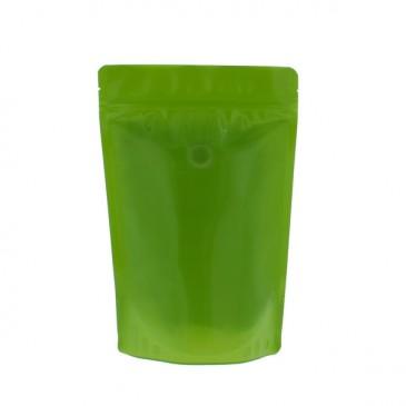 100 % recycelbare Kaffeebeutel (Code recyceln 4) Grün